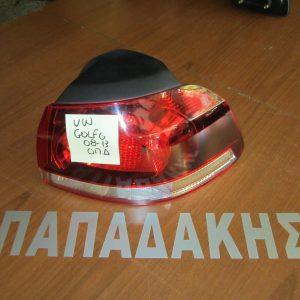 VW Golf 6 2008-2013 φανάρι οπίσθιο δεξί φιμέ