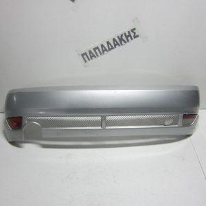 Ford Focus 1998-2002 προφυλακτήρας πίσω ασημί