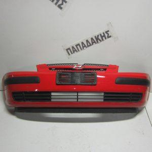 Hyundai Getz 2002-2005 προφυλακτήρας εμπρός κόκκινος