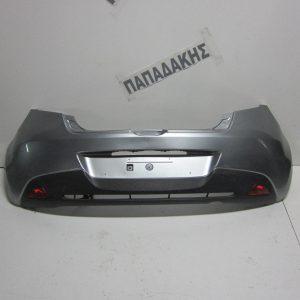 Mazda 2 2007-2014 προφυλακτήρας πίσω ασημί