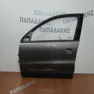 VW Tiguan 2008-2011 πόρτα εμπρός αριστερή μολυβί