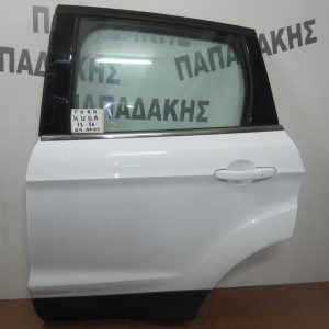 Ford Kuga 2013- πόρτα πίσω αριστερή λευκή
