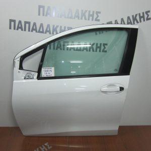 Toyota Yaris 2012- πόρτα εμπρός αριστερή λευκή