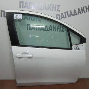 Toyota Yaris 2012- πόρτα εμπρός δεξιά λευκή