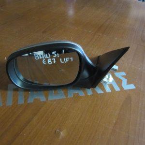 BMW E87 Series 1 2009-2011 καθρέπτης αριστερός ασημί