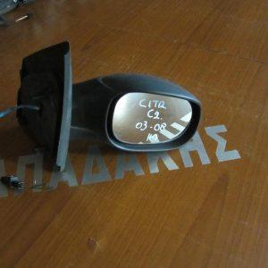 Citroen C2 2003-2009 καθρέπτης δεξιός ηλεκτρικός 1 φις άβαφος