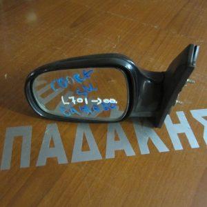 Daihatsu Cuore L700 1998-2002 καθρεπτης απλός μαύρος αριστερος