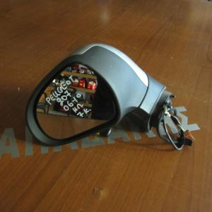 Peugeot 207 2006-2010 καθρέπτης αριστερός 7 καλώδια ασημί