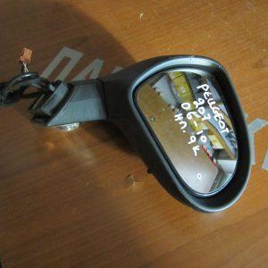 Peugeot 207 2006-2010 καθρέπτης δεξιός ηλεκτρικός 9 καλώδια ασημί