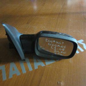 Renault Megane 2002-2008 καθρέπτης δεξιός ηλεκτρικός ανακλινόμενος 9 ακίδων μαύρος