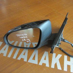 Toyota Yaris 2012-2014 καθρέπτης αριστερός ηλεκτρικός μαύρος