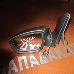 VW Up 2012- καθρέπτης αριστερός ηλεκτρικός ανακλινόμενος 9 καλώδια ασημί σκούρο