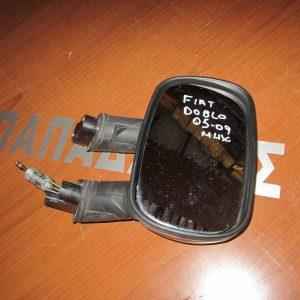 Fiat Doblo 2001-2010 καθρέπτης δεξιός μηχανικός μπορντώ