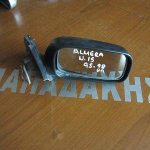 Nissan Almera N15 1995-1998  καθρέπτης δεξιός ηλεκτρικός άβαφος