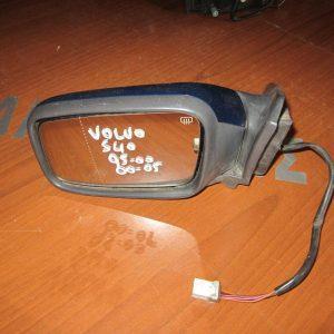 Volvo S40 1995-2000 (2000-2005) καθρέπτης αριστερός ηλεκτρικός μπλέ σκούρο
