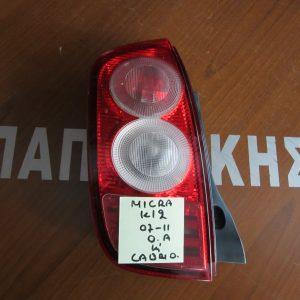 Φαναρι πισω αριστερο Nissan Micra K12 cabrio  2007-2010
