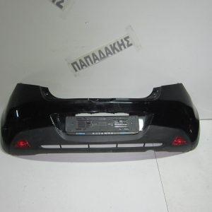 Mazda 2  2007-2014 προφυλαχτηρας πισω μαυρος