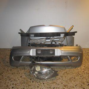 Μετωπη-μουρη κομπλε Mercedes Vaneo 2002-2005 ασημι (καπο-μετωπη-ψυγεια-φαναρι δεξι-προφυλαχτηρας-τραβερσα προφυλαχτηρας-μασκα)