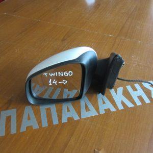 Renault Twingo 2014-2017 καθρεπτης αριστερος ηλεκτρικος ασπρος