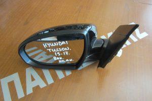 Hyundai Tucson 2015-2017 καθρεπτης αριστερος ηλεκτρικος με ανακλιση μαυρος