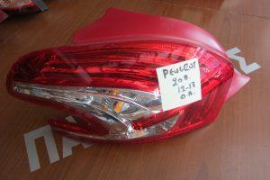 Peugeot 208 2012-2017 φαναρι πισω αριστερο