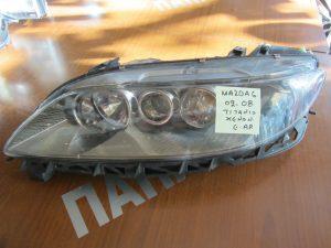 Φανάρι εμπρός αριστερό Mazda 6 2002-2008 τιτάνιο XENON