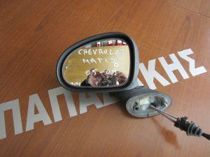 Chevrolet Matiz 2005-2009 καθρεφτης αριστερος  μηχανικος αβαφος