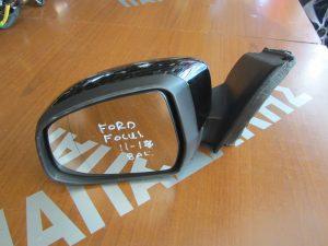 Ford Focus 2011-2017 καθρέπτης αριστερός ηλεκτρικός μαύρος φως ασφαλείας