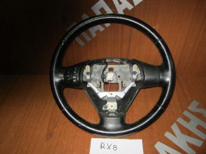 Mazda RX8 βολάν τιμονιού 2003-2012 δέρμα χειριστήριο