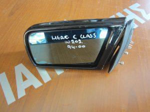 Mercedes C-Class W202 1993-1999 καθρεπτης αριστερος ηλεκτρικος μαυρος