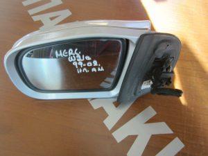Mercedes W210 E-Class 1999-2002 καθρεπτης αριστερος ηλεκτρικος ανακλινομενο ασημι