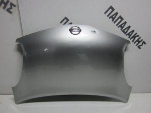 Nissan Micra K12 2003-2010 καπο εμπρος ασημι
