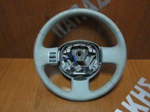 Nissan Micra k12 βολάν τιμονιού δέρμα σιελ 2003-2010 χειριστήριο