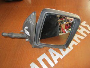 Opel Corsa Combo 2001-2011 καθρεπτης δεξιος μηχανικος ασημι