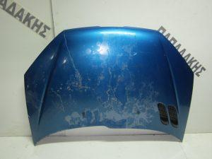 Peugeot 206 1998-2006 καπο εμπρος μπλε