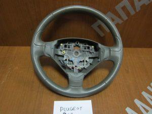 Peugeot 207 CC 2006-2010 βολάν τιμονιού γκρι