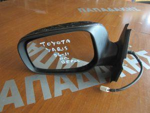 Toyota Yaris 2006-2011 καθρεπτής αριστερο ηλεκτρικος μολυβι