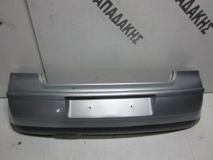 VW Polo 2002-2008 προφυλακτήρας πίσω ασημί