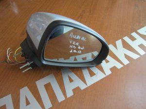Audi A1 2010-2017 καθρέπτης δεξιός ηλεκτρικά ανακλινόμενος 7 καλώδια ασημί