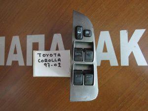 Toyota Corolla 1997-2002 διακόπτης ηλεκτρικός παραθύρων αριστερός 4πλός