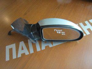 Ford Focus 1998-2004 καθρέπτης δεξιός ηλεκτρικός ασημί