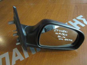 Hyundai Matrix 2001-2010 καθρέπτης δεξιός ηλεκτρικός  θερμαινόμενος άβαφος