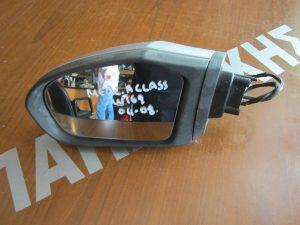 Mercedes A Class W169 2004-2008 καθρέπτης αριστερός ηλεκτρικός ασημί