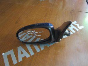 Nissan Almera N-16 2000-2006 καθρέπτης αριστερός ηλεκτρικός μπλέ