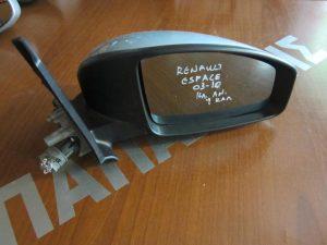 Renault Espace 2003-2010 καθρέπτης δεξιός ηλεκτρικά ανακλινόμενος ασημί