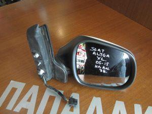 Seat Altea XL 2005-2015 καθρέπτης δεξιός ηλεκτρικά ανακλινόμενος 7 καλώδια άσπρος