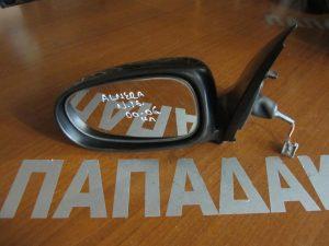Nissan Almera N16 2000-2006 αριστερός ηλεκτρικός καθρέπτης μαύρος